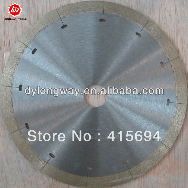 "180mm 7"" power tools circulare saw circular saw blade diamond for tile,ceramic,and porcelain. WET CUTTING"