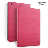 ROSE RED COLOR cover and case for ipad mini leather case
