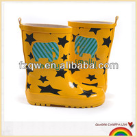 rubber children rain boot