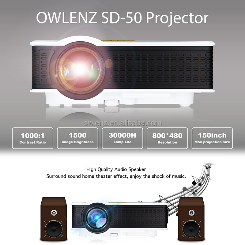 TV projector mobile phone multimedia projector, made in China home theater projector