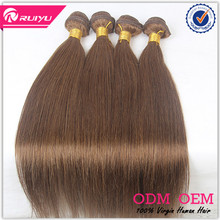 Soft and smooth 7A grade straight dark brown hair color pictures