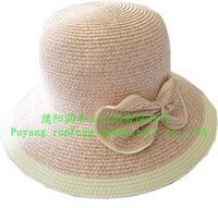 knot ladies paper straw sun beach hat
