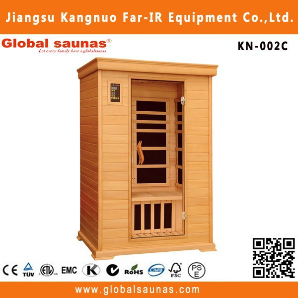 Nano carbon heater full spectrum far infrared sauna dome combined with steam