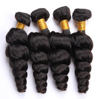 Factory Direct Top Quality No Tangle Cheap Remy Hair Peruvian Loose Wave Remy Hair