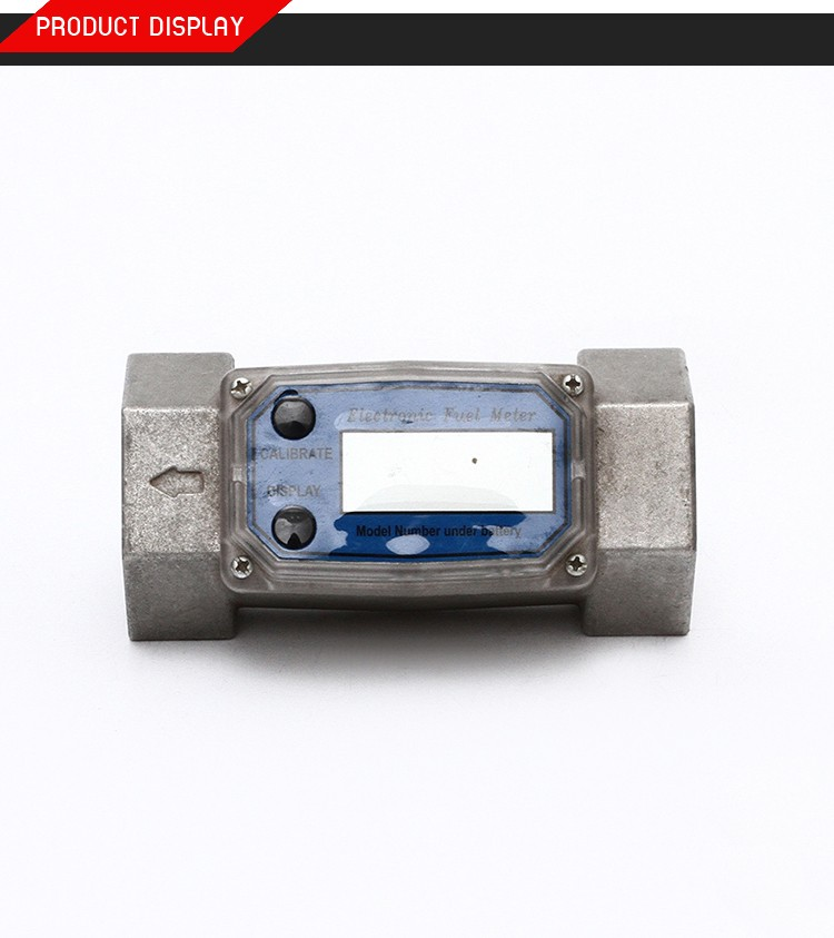Flow Measuring Turbine Flow Meter, Digital Flow Meter