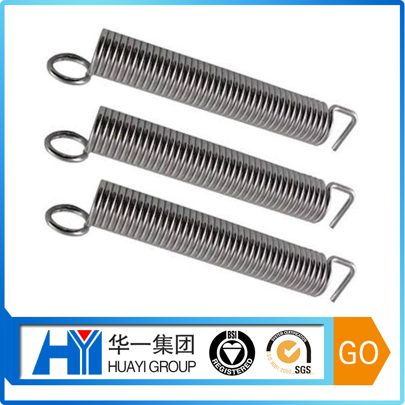 custom heavy duty garage door extension springs hardware tension spring with end hooks manufacturer