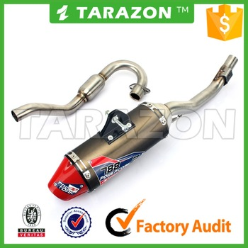 Motorcycle Full Exhaust Muffler Pipe System for Honda CRF150F CRF230F
