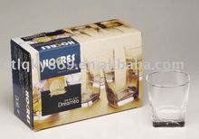 2012 high quality whisky glass set glass cups
