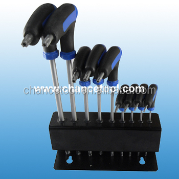9pcs T handle hex key wrench set HK015