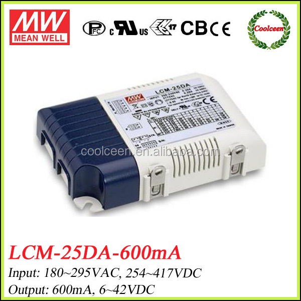 Meanwell LCM-25-600 600ma led power driver