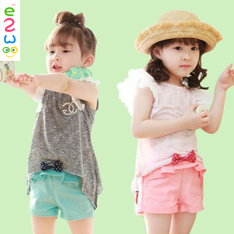 Clothing Sets Baby Girl Christmas Outfit Collar Suits For Girls