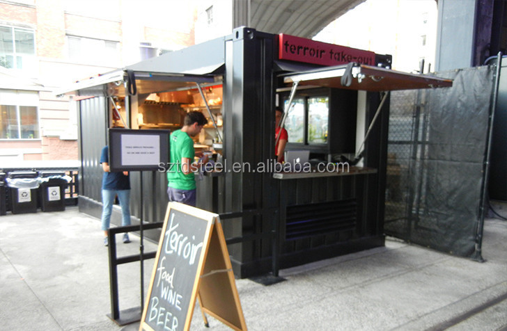 Mobile 40ft cafe container
