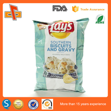 food grade OPP/VMCP printing aluminum foil potato chip bags with good barrier