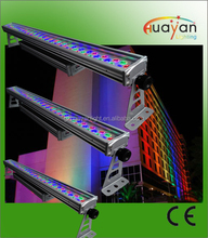 Exterior DMX LED wall washer light for wall facade lighting decoration, high brightness