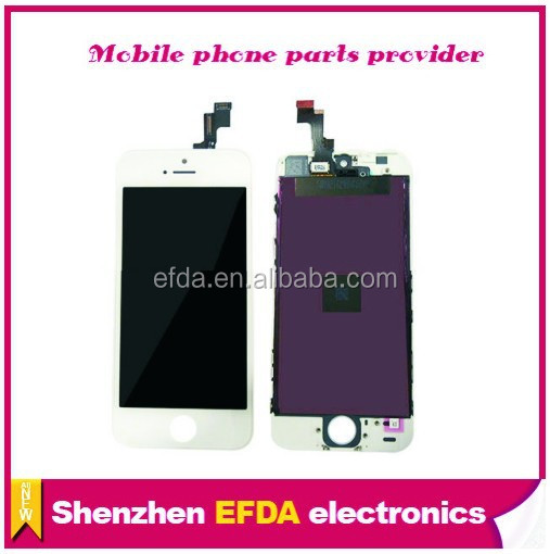 Best quality for apple iphone 5s lcd display