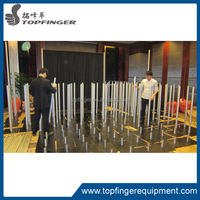 portable crossbar and upright sets pipe and drape