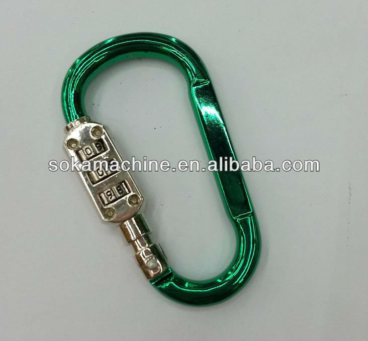 Multifunctional Aluminium alloy Screw Lock Aluminum Carabiner