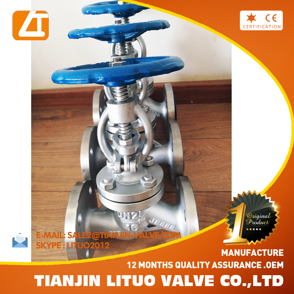 high pressure A105N flange steam forged steel globe valve