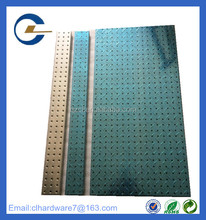China factory metal pegboard display 16x32 inch for sale