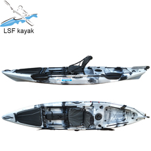 Hot Selling Anti UV LLDPE Single Mini Fishing Kayak Sit On Top Kayak Factory