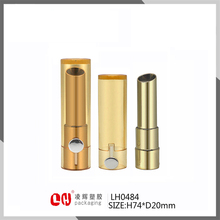 Newest price empty Plastic Lipstick Tube Cosmetic Makeup Linghui Packaging Container