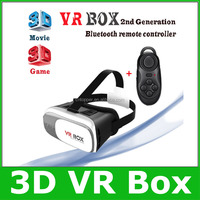New 2nd Generation 3D VR BOX II Magicbox Second VR Glasses Virtual Reality II Google Cardboard 360 degree Panoramic Experience