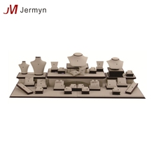 Wholesale professional design wooden luxury jewelry displays