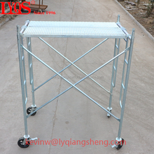 Steel galvanized gravity pin lock h frame scaffolding for construction