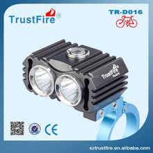 The final 2014 TrustFire D016 new bicycle light to customers! High quality rechargeable chinese led bike light