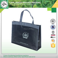 Customized reusable pp shopping woven bag