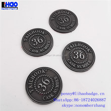 Promotion cheap custom antique challenge token old coins