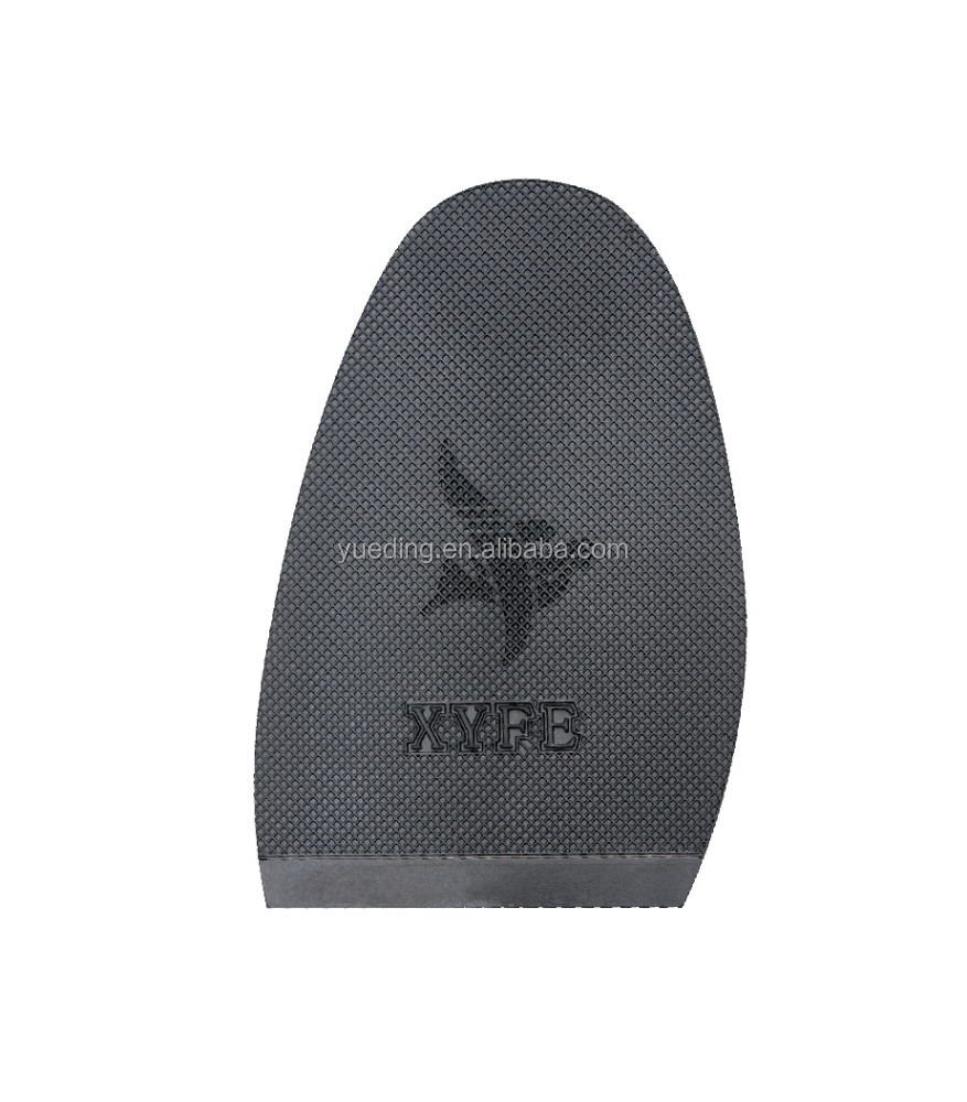 Anti-slip Durable Soft Half Outsole PVC Custom Natural Rubber for Shoes Making