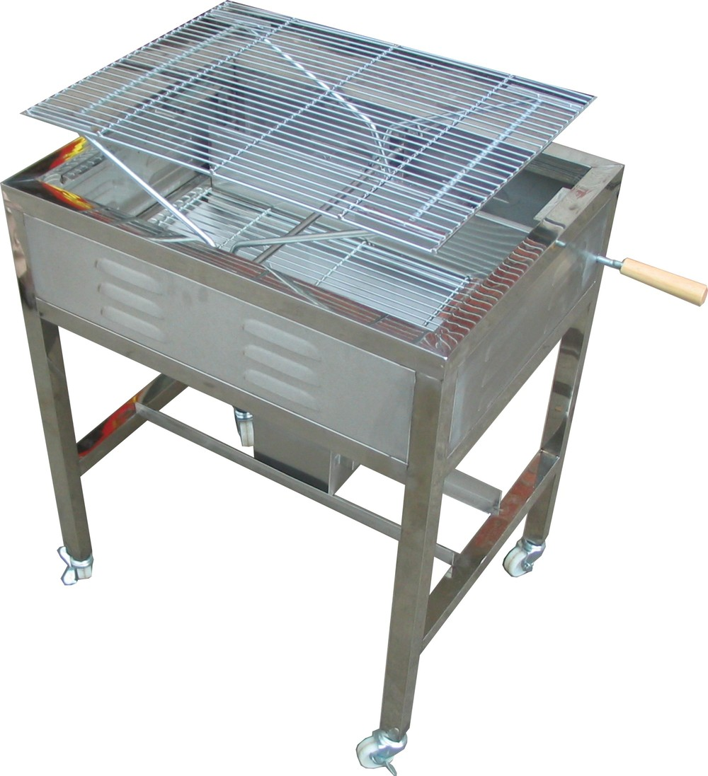 JHC-8002/ Cast iron bbq grills/stainless steel charcoal bbq grills