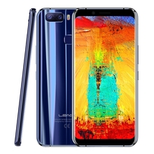 Leagoo S8 Pro Smartphone 5.99'' Full Screen 6GB RAM 64GB Android 7.0 Octa Core 13MP 4 Cameras Fingerprint 4G Unlocked Cellphone