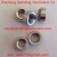 Stainless steel motorcycle part self clinching nut
