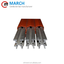 MARCH Electrical equipment supplies crane conductor bar , heavy duty conductor power rail for crane
