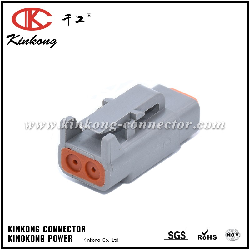 DEUTCH DTM series Kinkong Factory Plug Socket 2 Pin Female Inlet Air Temperature Sensor Auto Connector For Brand Cars DTM06-2S