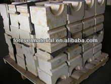 Fire alumina furnace roof and arch precast