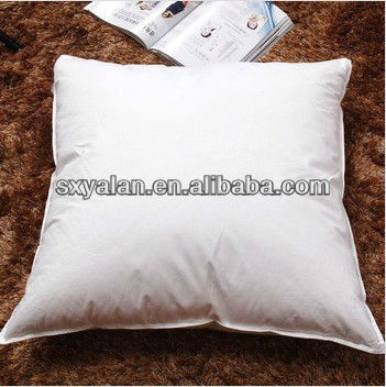 white polyester/feather cushion inserts, cushion inners