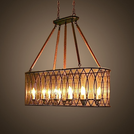 ceramic concrete square clay e27 retro cafe pendant lighting
