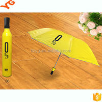 Hot sale mini wine bottle umbrella for corporate giveaways