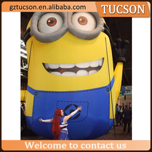 customized minion inflatable cartoon character giant for sale