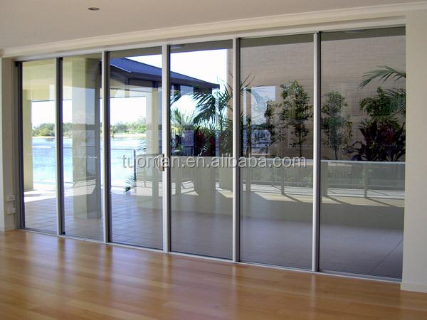 Buena calidad bajo precio monoblock de aluminio puerta de for Puertas monoblock precio