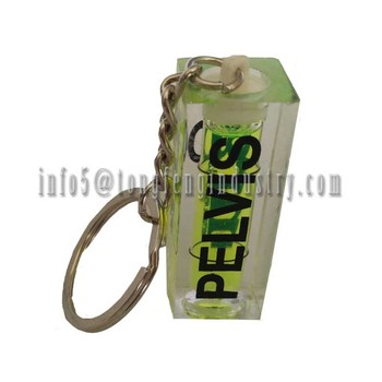 Bubble Spirit Level with Keychain