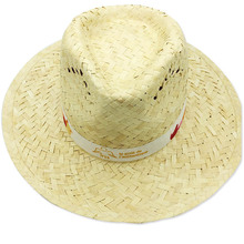 Best selling wheat stalk hat beach sun hat summer paper straw hat for men