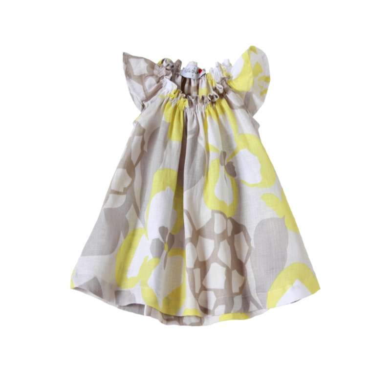 Flutter sleeve children dress summer kids wear