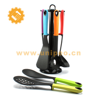 best selling products 2017 in usa 7 pieces kitchen utensils and uses with holder in home