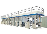 (One-to-Eight Colour) for rolled plastic Small Gravure Printing Machine