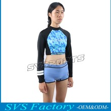 Rashguard Women Swim Shirts Womens Rash Guard Swimwear Lycra Surf Rushguard Top Quality Rush Guard