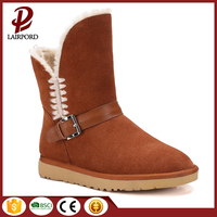 Warm new style low MOQ womens winter snow boots